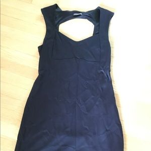 Women's Express Little Black Dress